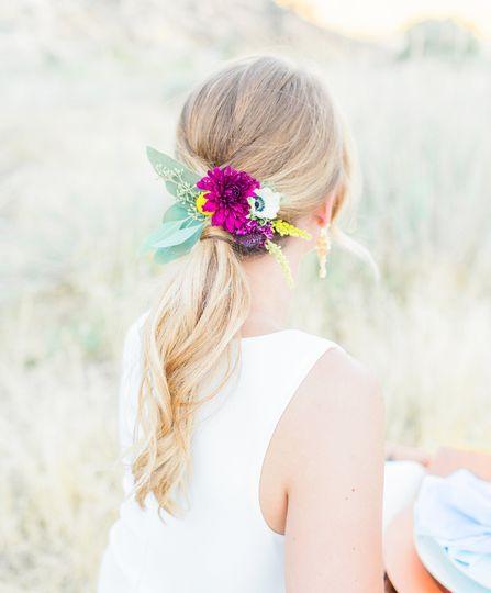 The bride   PC: Claire Johnson Photography