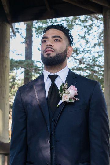 The groom   PC: Sara Weir Photography