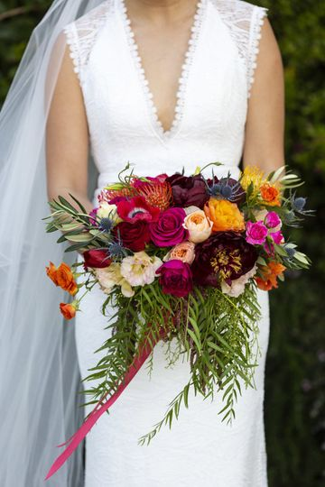 Bridal bouquet | PC: Mad and Moonly Photography