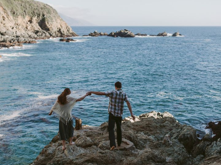Tmx 1506387472924 Big Sur Engagement Session By Megan Saul Photograp Chicago, IL wedding photography