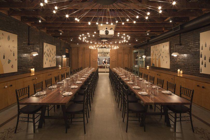 The lark santa barbara rehearsal dinner santa barbara for Best private dining rooms seattle