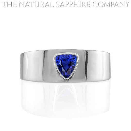 NaturalBlueSapphireWeddingbandJ2071
