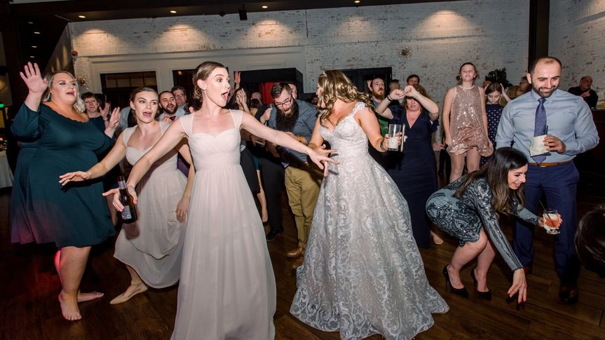 Reception Dancing!