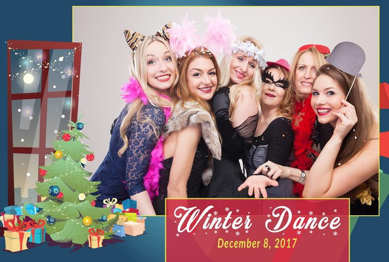 Christmas themed frame