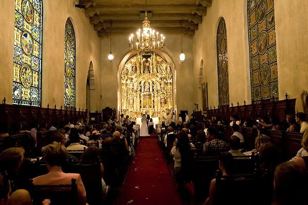 The Chapel of St. Francis at Mission Inn in Riverside California