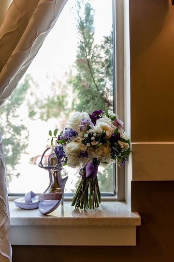 Posies and Promises prides themselves on personal touches.  This photo is of the back of the...