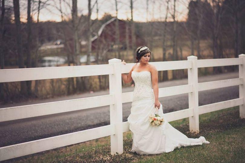 Bride's photo