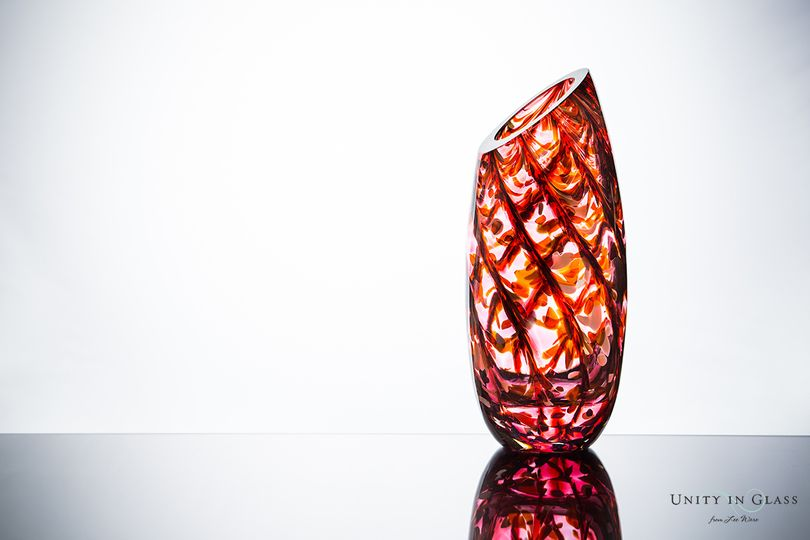 Unity in Glass Aria Vase