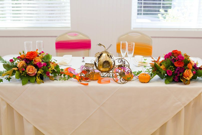 wild willow designs head table