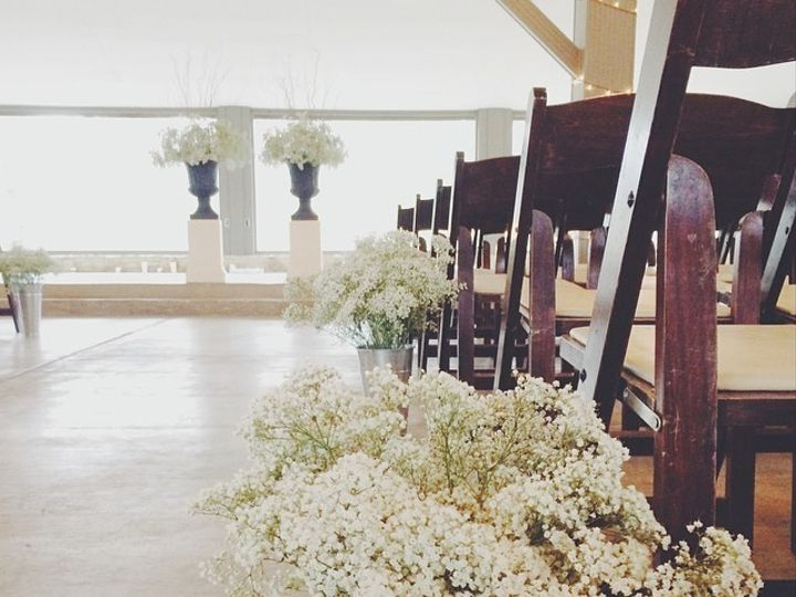 Tmx 1426602360780 Pecan Grove Indoor Ceremony Facing Stage Driftwood, Texas wedding venue