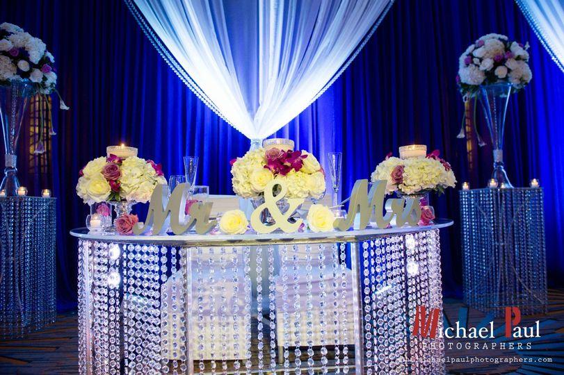 Abricoe exclusive Sweetheart Table