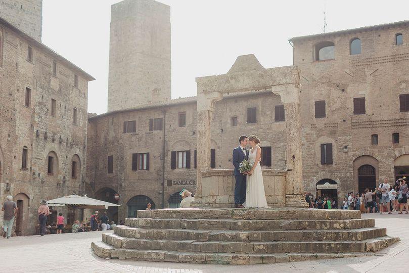 Marion & Stefano, S.Gimignano
