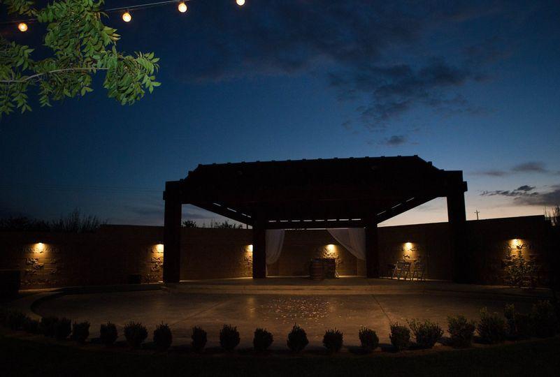 Romantic amphitheater
