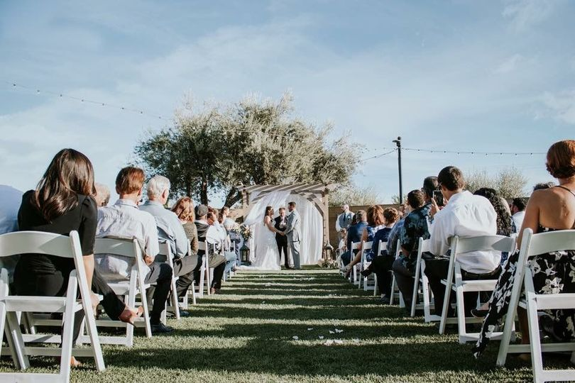 Lawnspace ceremony
