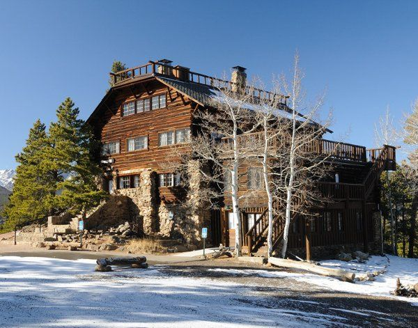 Mountainside Lodge! This is a historical cabin registered with the state of Colorado. It sleeps up...