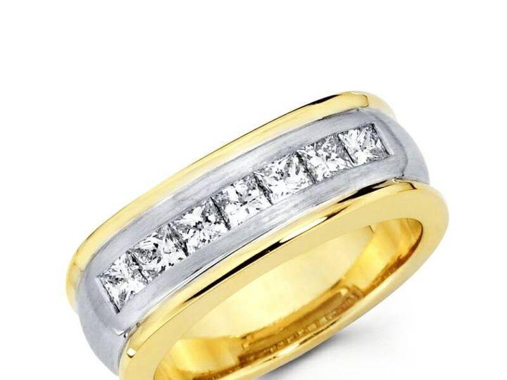 Tmx 1450730677962 2tonebandprincut Los Angeles wedding jewelry