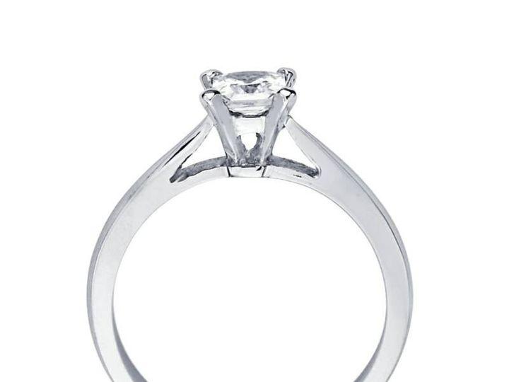 Tmx 1450730719736 Luci Princess Solitaire Los Angeles wedding jewelry