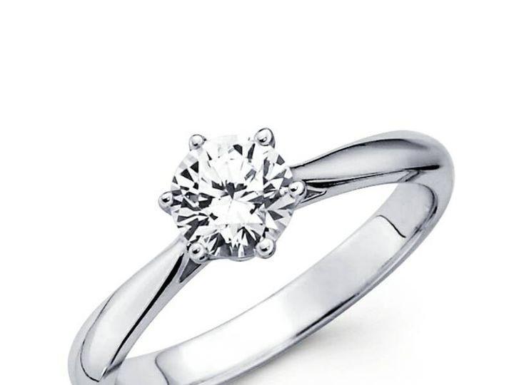 Tmx 1450730774201 Round Solitaire  Los Angeles wedding jewelry