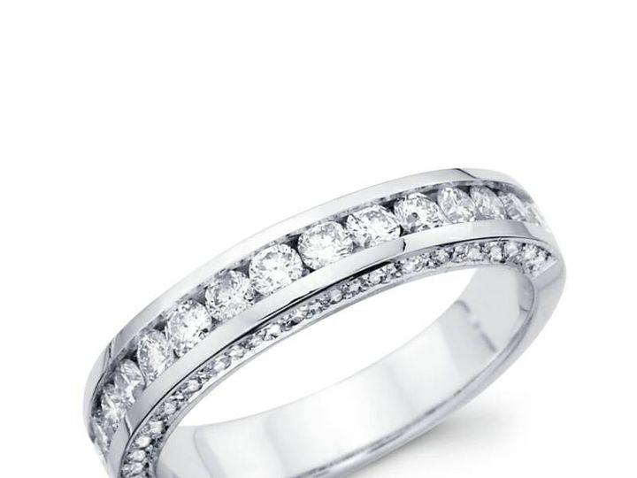 Tmx 1450730796174 Roundcutchannelband Los Angeles wedding jewelry