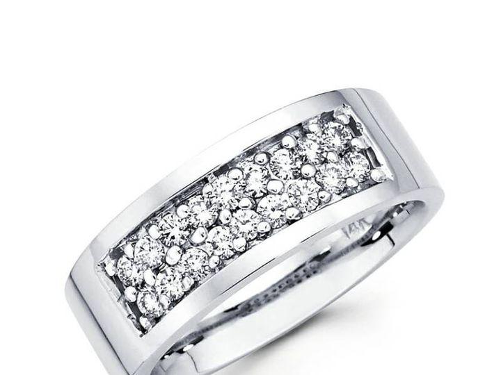 Tmx 1450730817336 Rounddblrowrnd Los Angeles wedding jewelry