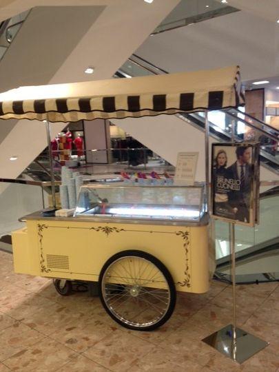 authentic cart at neiman marcus