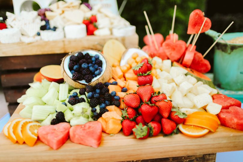 Fruit Display for Cocktail Hou