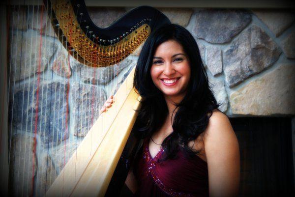 Harpist Lizary Rodriguez
