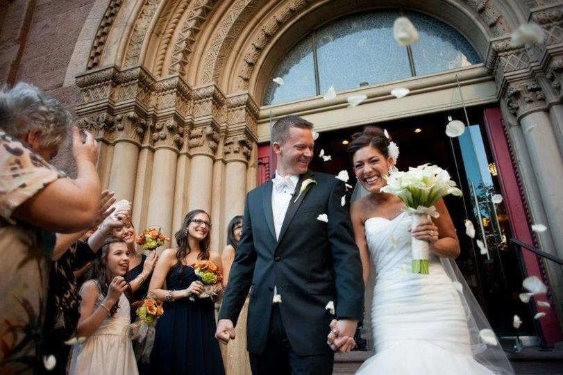 Nancy and Eric, Kimmel Center Wedding. Photo by Baiada Photography