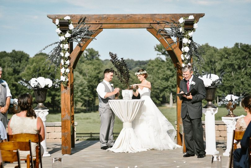 Arbor Included for Ceremonies