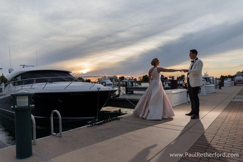 Wedding northern michigan
