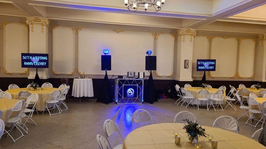 Maytag Ballroom in Newton Iowa