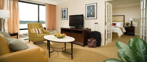The Crowne Plaza has four luxurious Junior Suites (Pictured above)