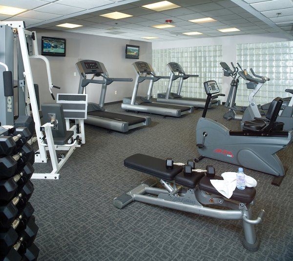 The Crowne Plaza offers a 24-hour fitness center for all hotel guests.