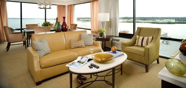 The Crowne Plaza Presidential Suite