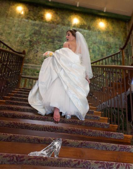 Cinderella themed wedding at Talamore Country Club