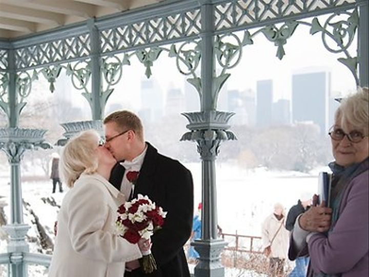 Tmx 1304601235451 WeddingYourWayNewYorkCentralParkLadiesPavilionSkyline New York wedding officiant