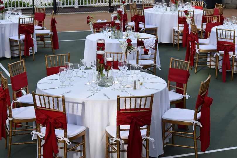 Elegant or casual, we can decorate your reception to your vision