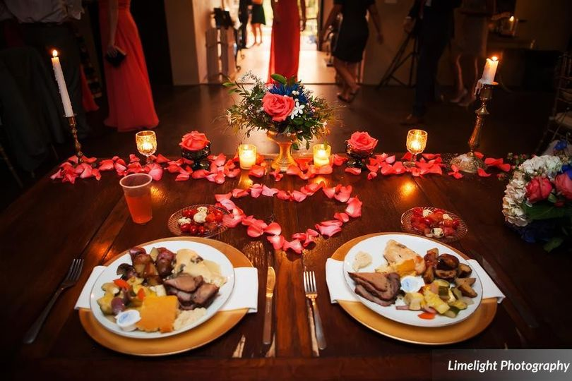 Perfectly done BBQ definitely has its place at the Sweetheart Table