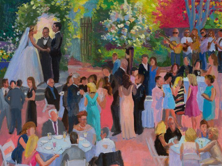 Tmx 1508455751101 Hollyhedgecocktailhour Live Event Painting 2972 Warwick, NY wedding ceremonymusic