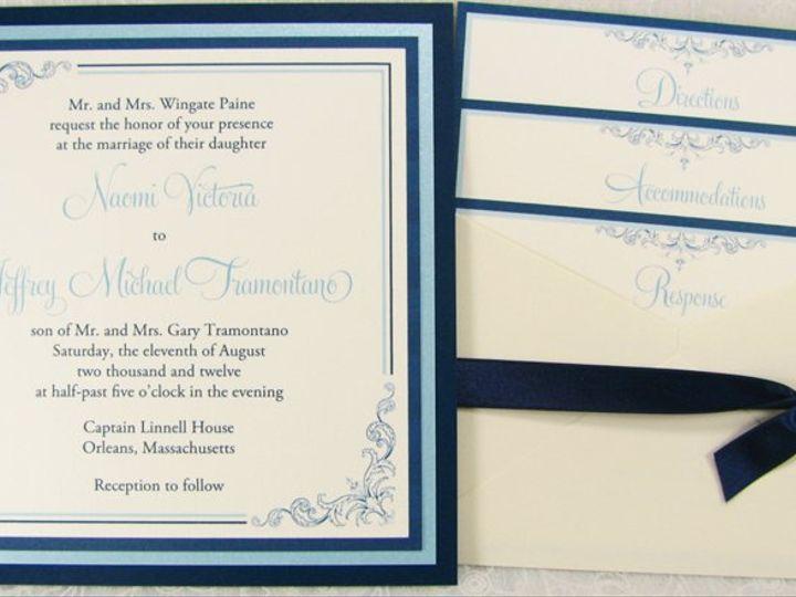 Tmx 1353537127368 NaomiJeffrey Port Orchard wedding invitation