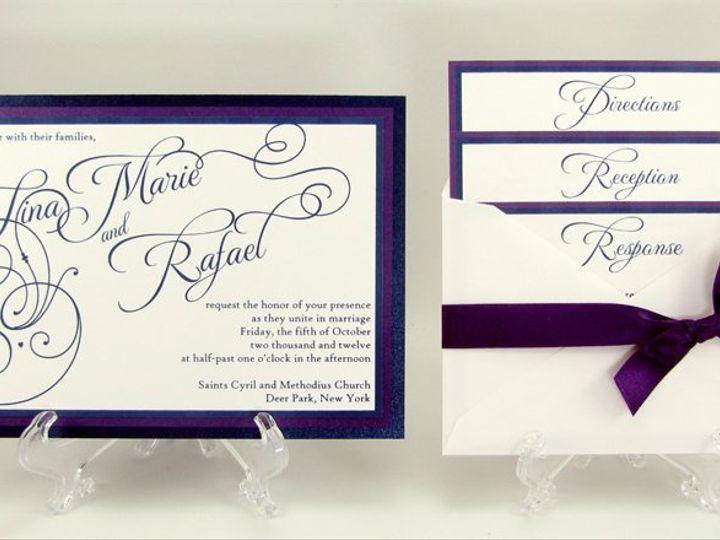 Tmx 1353537129992 TinaMarieRafael Port Orchard wedding invitation