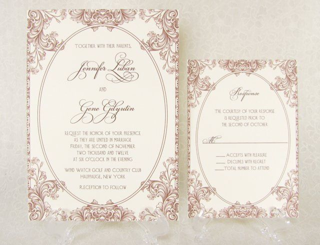 Tmx 1353537360564 JenniferGene Port Orchard wedding invitation