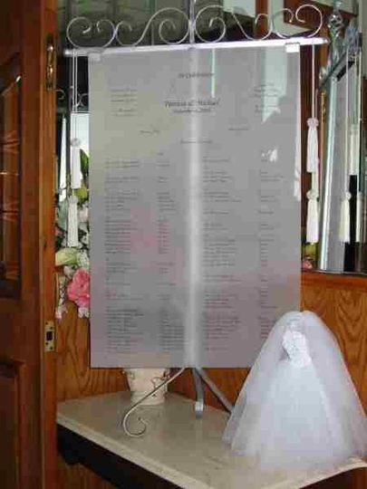 Our Scroll rentals are available in Gold or Silver.  The cost is $185.00 for the basic printed...