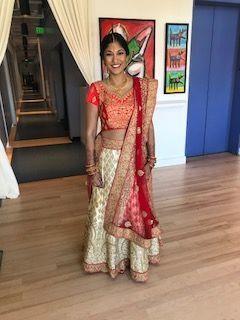 Hindu glamour bride