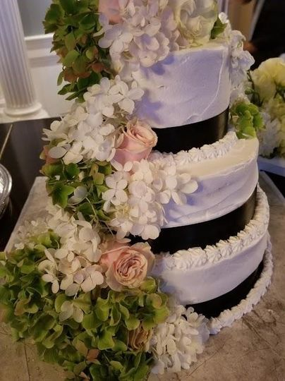 Example of a wedding cake