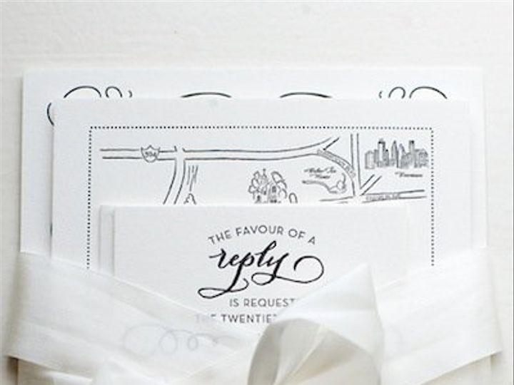Tmx 1339435060392 ClassicNavyGrayLetterpressWeddingInvitations1 Wayzata wedding invitation