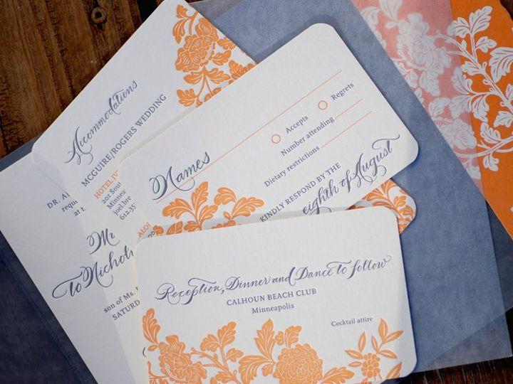 Tmx 1339435065744 IconWinner Wayzata wedding invitation