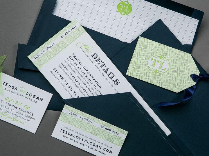 Tmx 1389741806526 Invite A2 Wayzata wedding invitation