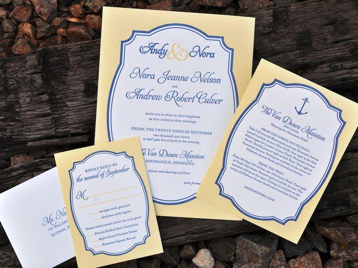 Tmx 1389741845054 Styling E Wayzata wedding invitation