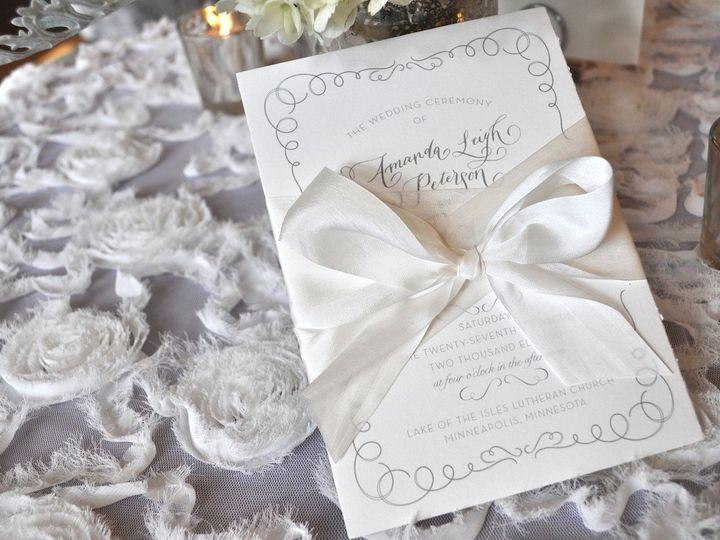 Tmx 1389742403996 Styling D7 Wayzata wedding invitation